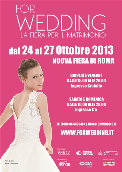 Locandina For Wedding