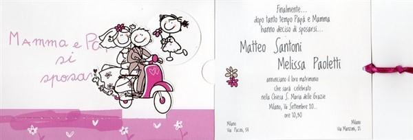Partecipazioni Matrimonio Annunciate Dai Figli.Bomboniere A Roma 2014